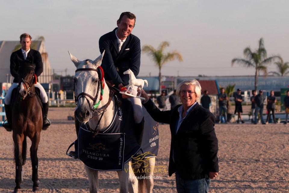 Grégory Wathelet (Photo : Vilamoura Equestrian Center / Paulo Beckman)