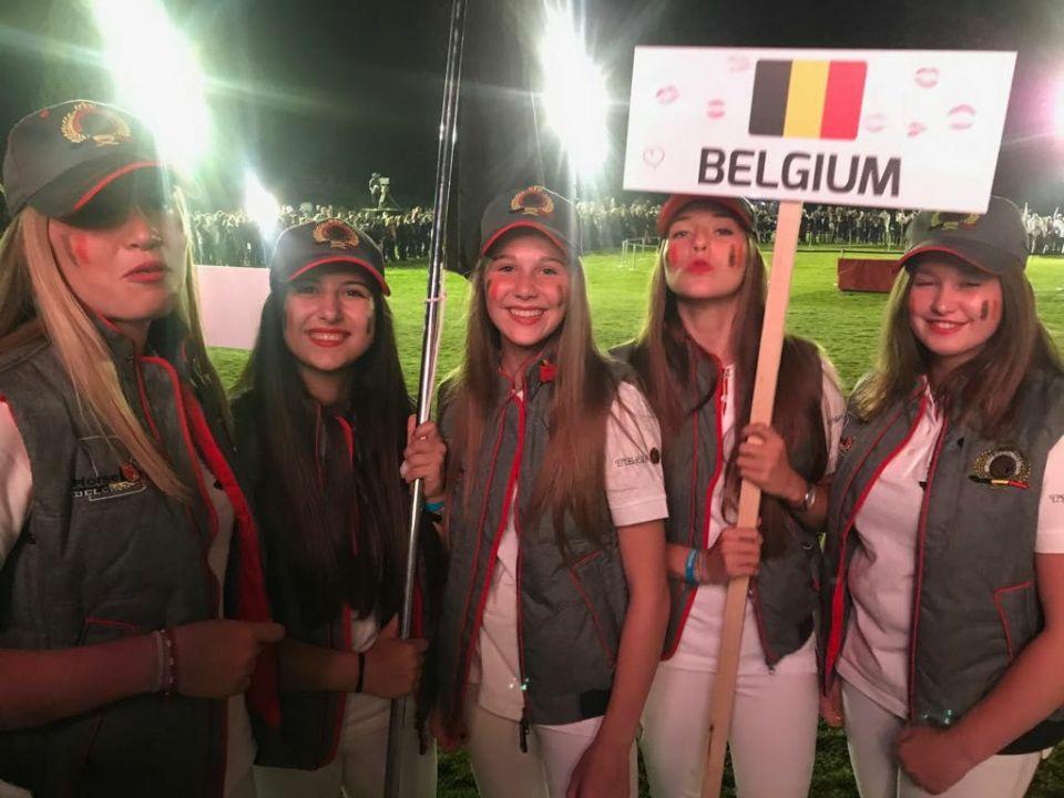 Championnat du Monde Juniors d'endurance 2017 - Délégation belge (c) Pierre Arnould