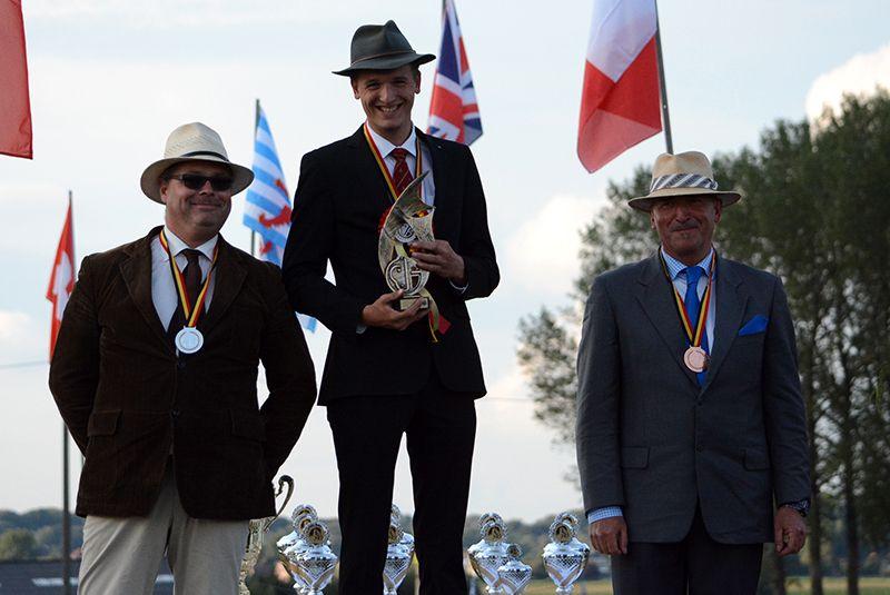 Gilles Pirotte - 1 poney - Championnat de Belgique 2017 - 1ere place (c) Trob.be
