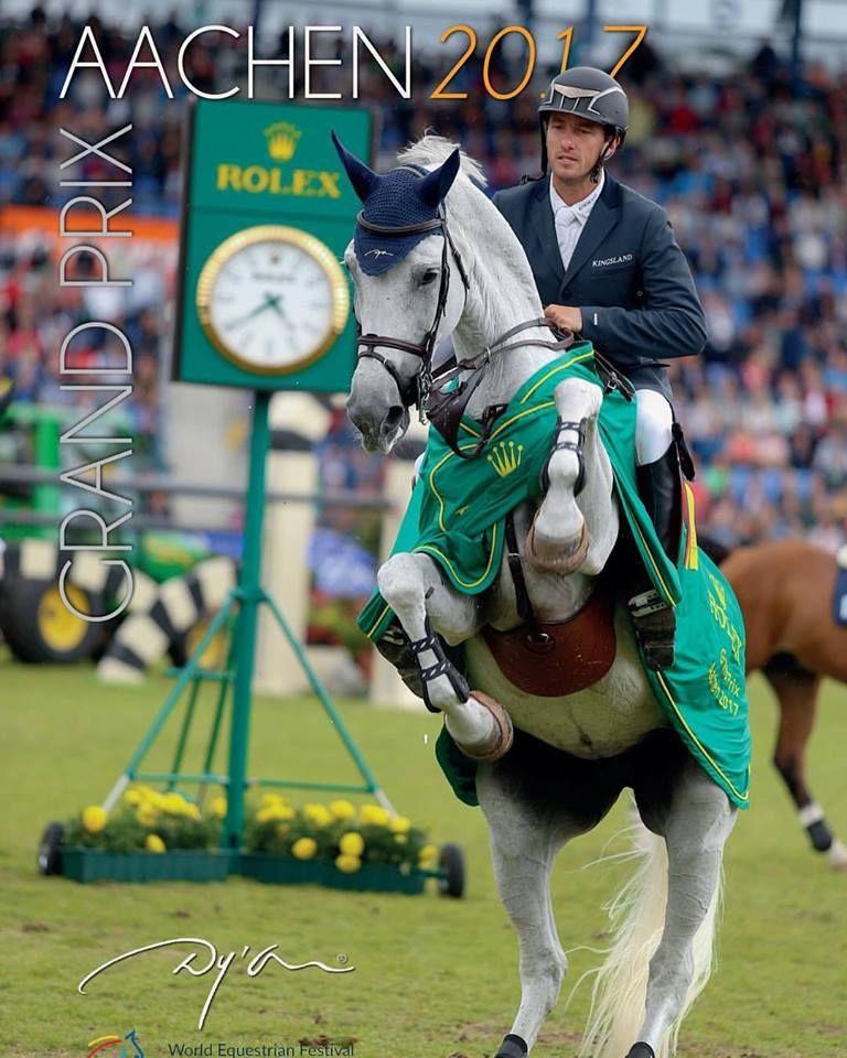 Grégory Wathelet - Corée - CSI5 Aix-la-Chapelle - Remise des Prix (c) World Equestrian Festival - Dyon