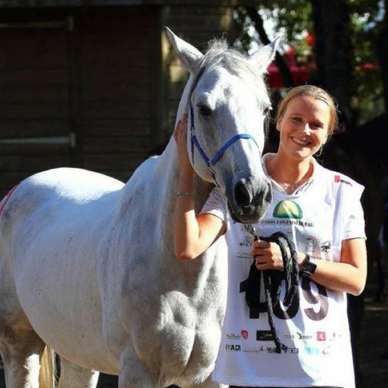 Louna Schuiten et Sabah du Courtisot - Fontainebleau - Octobre 2017