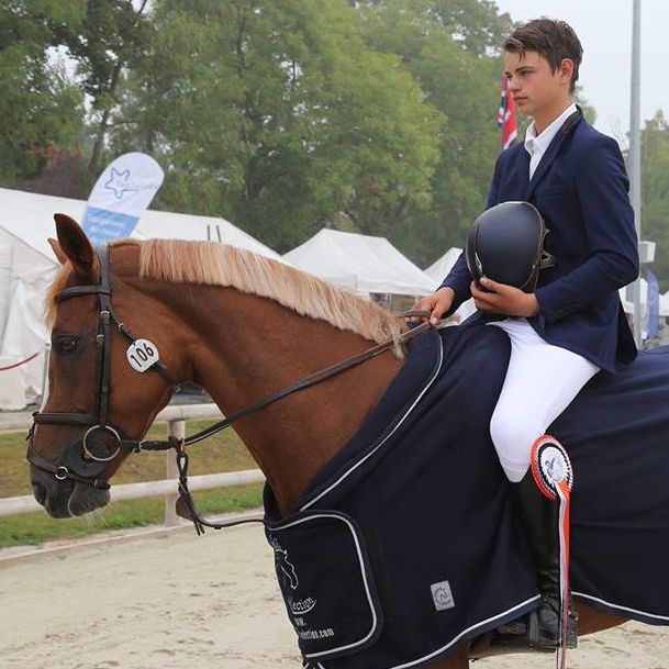 Elias Olsen (Photo : Horse Event)