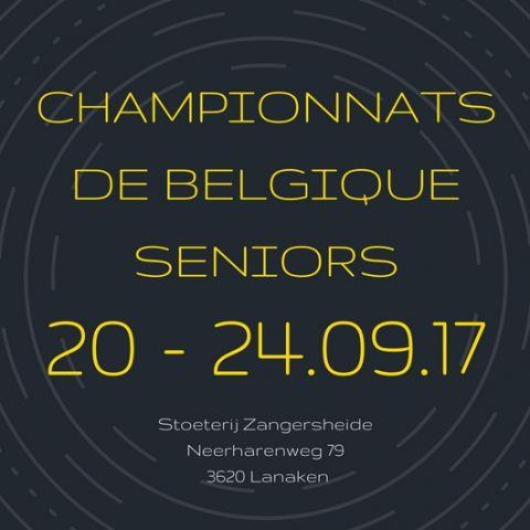 Ch. Belgique Seniors 2017