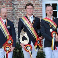 Julien Despontin, Champion de Belgique à Waregem 2015 (c) Equnews