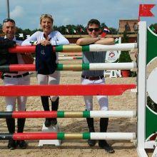 Constant Van Paesschen - Fanbienne Daigneux-Lange - Frantz Ducci au Royal Morocco Tour 2015 (c) L'Equimag
