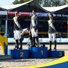 Le podium (Photo : Zangersheide)