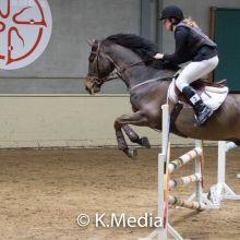 Celien Meert - Dressage - Round 1 - K. Media (c)
