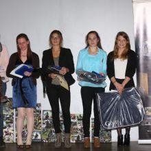 A4: Marie Lamy, Pauline Lambermont, Julia Schmitz, Céline Delforsse, Lisa Iannuzzi (c) Events Photo Service