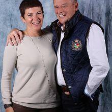 Martine Beuken (membre commission) et Philippe Michel (c) Events Photo Service