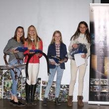 P60: Amicie Martins, Victoire Redele, Céline Petit et Charlotte de Theux (c) Events Photo Service