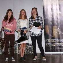 P80: Kathy Marion, Léa Poncelet, Laudine Leroy (c) Events Photo Service