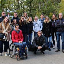 L'entièreté des participants à cette belle journée, entourés de Gilles Berwart et Nicolas Malmendier