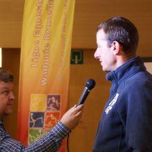 Grégory Wathelet interviewé pour la radio