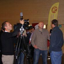 Grégory Wathelet interviewé pour la télévision