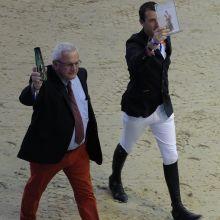 Mise à l'honneur de Félix-Marie Brasseur et Grégory Wathelet