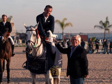 Grégory Wathelet (Photo : Vilamoura Equestrian Center / Paulo Beckman)