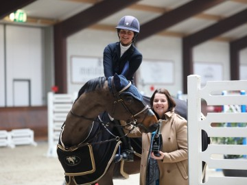 Tatiana Troiani (Photo : Equestrian Centre de Peelbergen)