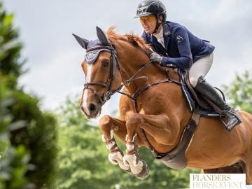 Fabienne Daigneux-Lange (Photo : Flanders Horse Expo)