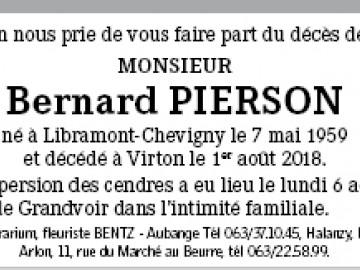 Bernard Pierson