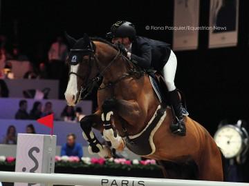 Céline Schoonbroodt & Cheppetta - CSI2 GP Paris 2017 (c) Fiona Pasquier-Equestrian News