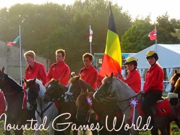 Ch. Europe pony-mounted games 2017 - Angleterre