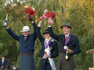 Podium 1 poney - Médaille de Bronze pour Gilles Pirotte