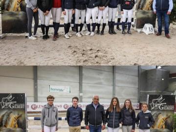 Les juniors et scolaires présents au stage (Photos : Sébastien Boulanger)