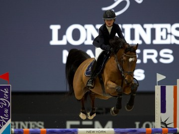 Louise Ameeuw (Photo : Longines Masters)